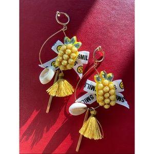 Jewelry - Pineapple shining earring